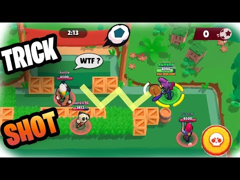 TOP 10 TRICKSHOTS Brawl Ball | Funny Moments \u0026 Fails \u0026 Gitches #26