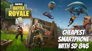Cheapest Snapdragon 845 gaming smartphone for Fortnite Game? Xiaomi Mi8