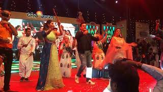 LIVE || Dandiya || Arbaz Khan and Daisy Shah at || New Patna Club ||in Dandiya Nights |16-10-2018|