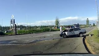 car accidents - brutal car crashes caught on dash cam terrible road accidents 2018