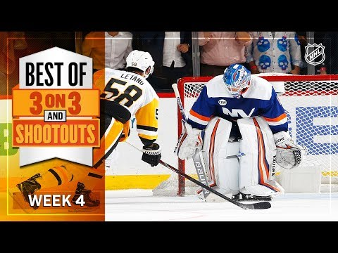Best 3-on-3 OT and Shootout Moments from Week 4