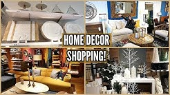 HOME DECOR SHOPPING! POTTERY BARN, CRATE & BARREL, ARHAUS!