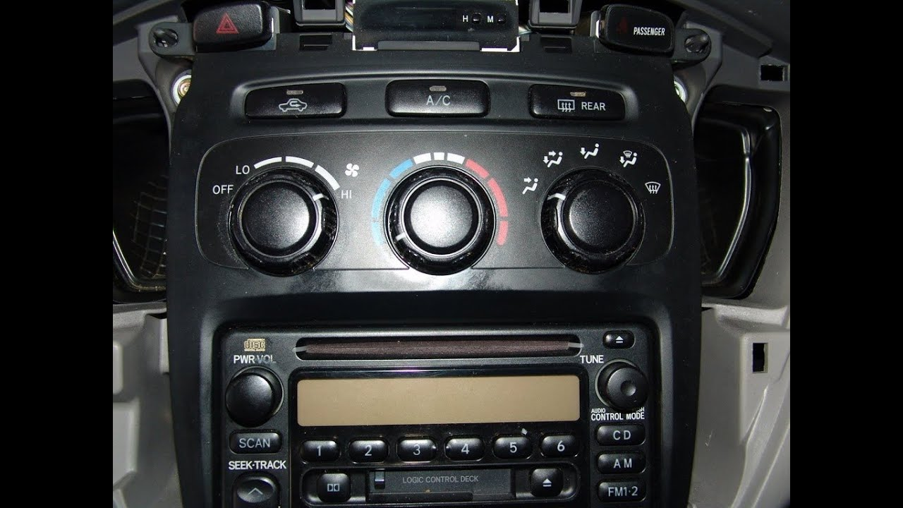 how to repair toyota highlander climate control diy tips [ 1280 x 720 Pixel ]