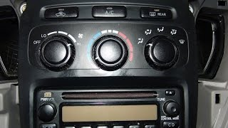 How To Repair Toyota Highlander Climate Control | DIY Tips