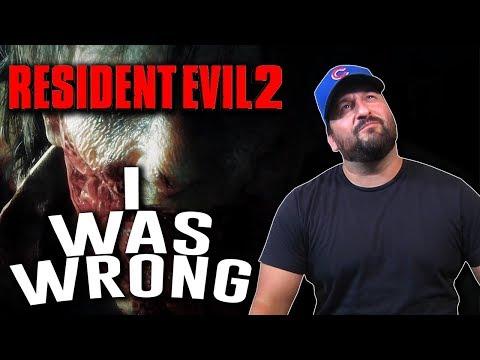 Resident Evil 2 Remake - I WAS WRONG?!