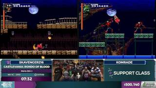 Castlevania: Rondo of Blood in 16:17 - Awesome Games Done Quick 2017 - Part 96