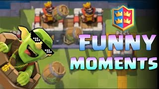 Funny Moments, Glitches, Fails, Wins and Trolls Compilation #8 | CLASh ROYALE Montage