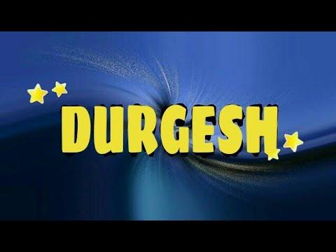 durgesh name new