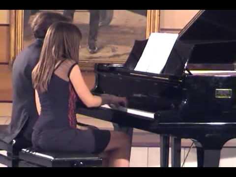Czardas piano 4 hands