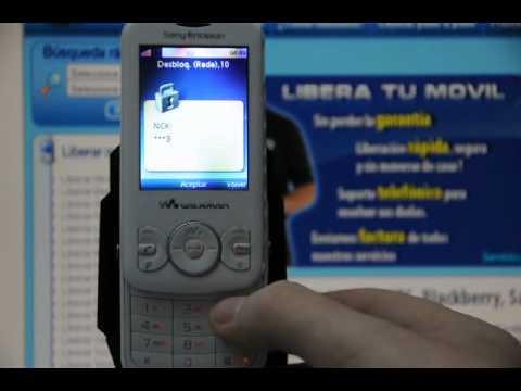 Liberar Sony Ericsson W100i Spiro, desbloquear Sony Ericsson W100i Spiro de Vodafone - Movical.Net