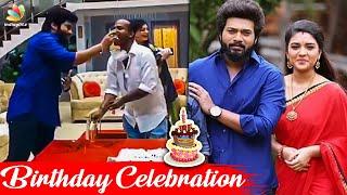 Sembaruthi Serial Starts With Celebration   Aadhi Parvathi Love, Karthik Shabana, Zee Tamil   News
