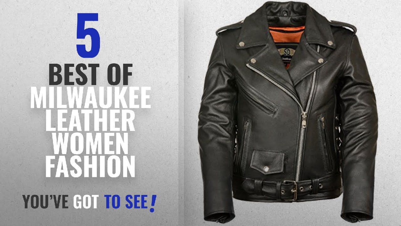 595a823f9 Milwaukee Leather Women Fashion [2018 Best Sellers]: LC2701 Ladies Black  Basic Classic Motorcycle