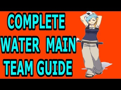 COMPLETE NARUTO ONLINE WATER MAIN TEAM GUIDE