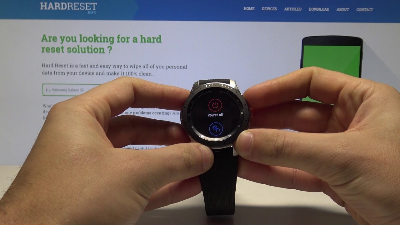 How to Take Screenshot on Samsung Galaxy Watch - Capture Screen in  Smartwatch