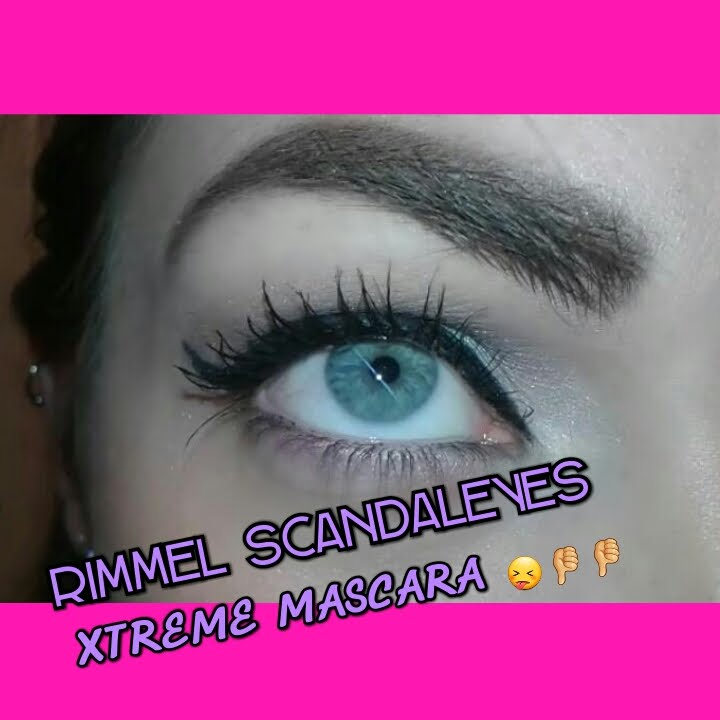 5bf376424c2 RIMMEL Scandaleyes Xtreme Mascara review| Thumbs down 👎👎 - YouTube