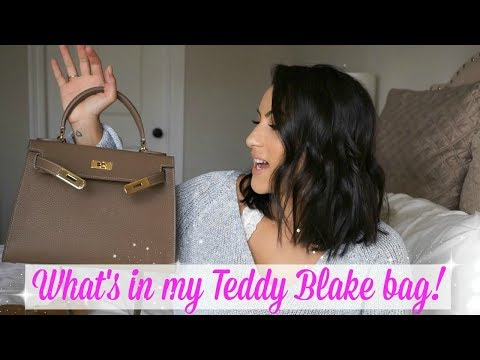 WHAT'S IN MY BAG! /TEDDY BLAKE BAG REVIEW