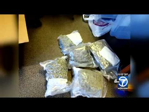 D.C. woman finds marijuana in express mail package