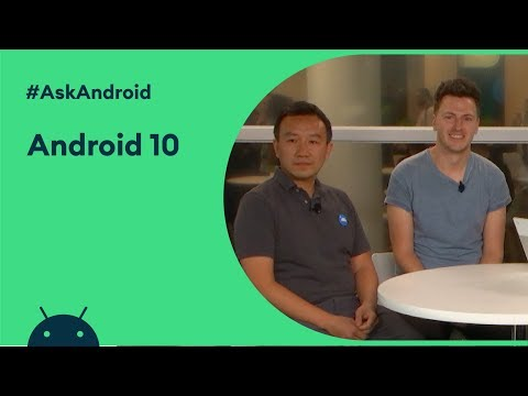 #AskAndroid At Android Dev Summit 2019 - Android 10
