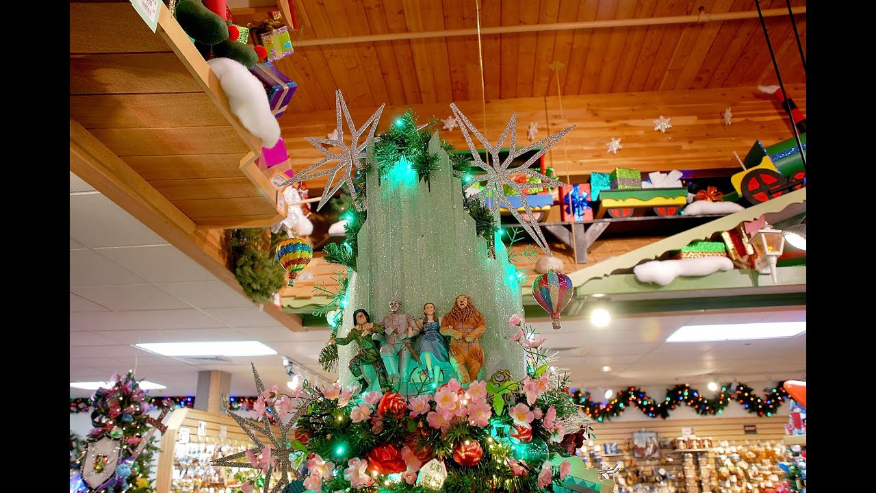 How To Create An Emerald City Tree Topper - YouTube