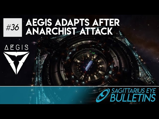 Sagittarius Eye Bulletin - Aegis Adapts After Anarchist Attack