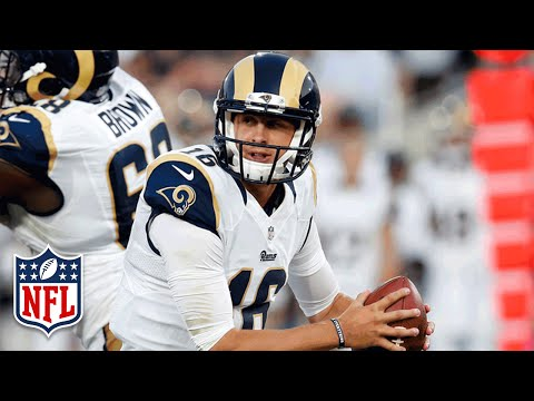 Every Jared Goff Throw from Week 2 | 2016 NFL Preseason Highlights