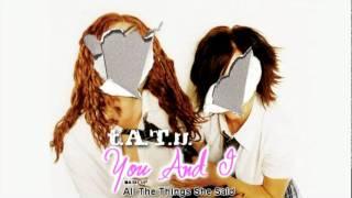t.A.T.u. - You And I (Mash Up_All The Things She Said)
