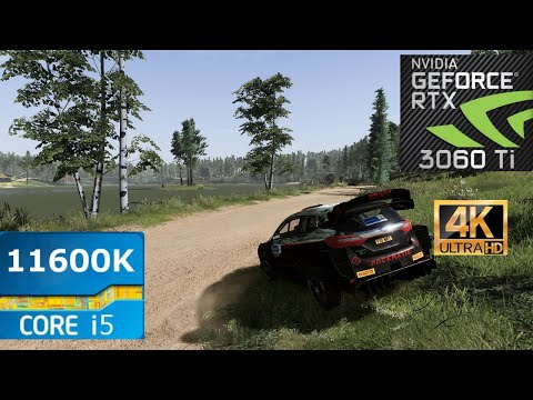 WRC 10 Gameplay | RTX 3060TI 1080p | 1440p | 4K |