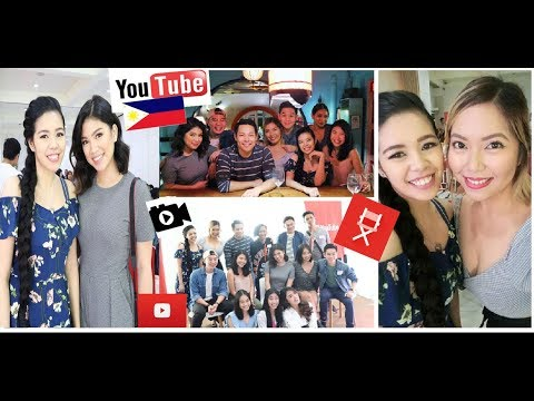 Vlog-Cebu Youtube Event -Speaking On a Panel & Meeting Filipino YouTube Ambassadors-Beautyklove