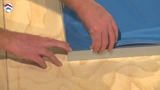 Instructiefilm textielframe LED on dibond 50mm