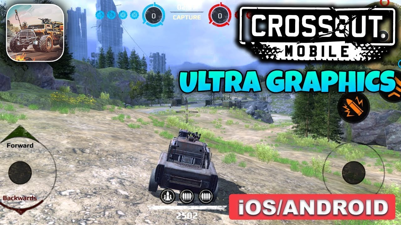 CROSSOUT MOBILE - ANDROID / iOS GAMEPLAY - ULTRA GRAPHICS