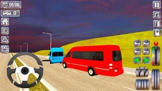 Mercedes Sprinter Van Driving - City Passenger Transport Bus Driver - Android Gameplay