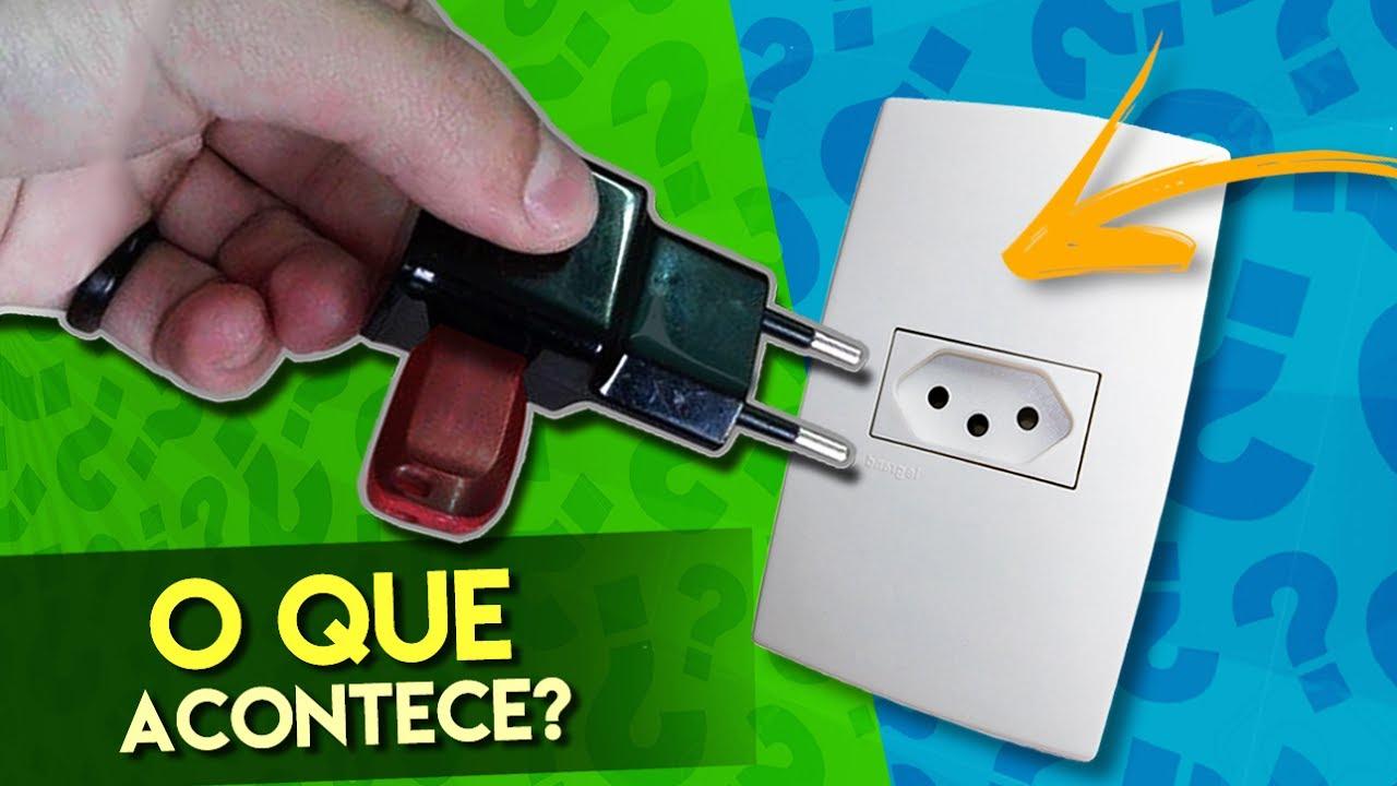 O QUE ACONTECE SE VOCÊ CONECTAR UM PEN DRIVE NA TOMADA? - Dicas Flash ⚡
