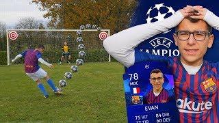 LIGUE DES CHAMPIONS CHALLENGES N°1 ! (Evan et le FC Barcelone déja en danger ?)