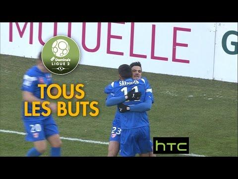 Tous les buts de la 21ème journée - Domino's Ligue 2 / 2016-17