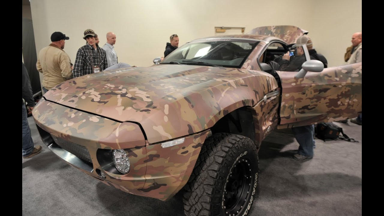 Local Motors Rally Fighter >> Shot Show 2013 Rally Fighter Multicam - YouTube
