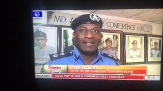 Nigeria Police Force Arrest Police Scammer in Lagos