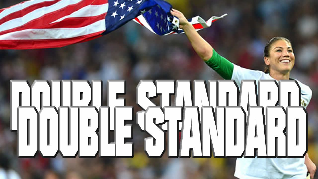 Hope Solo double standard