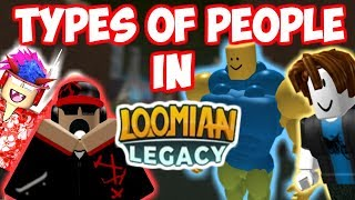 6 TYPES OF LOOMIAN LEGACY PLAYERS *Roblox Skit*