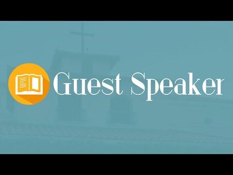 Guest Speaker  Pastor Ted Leavenworth