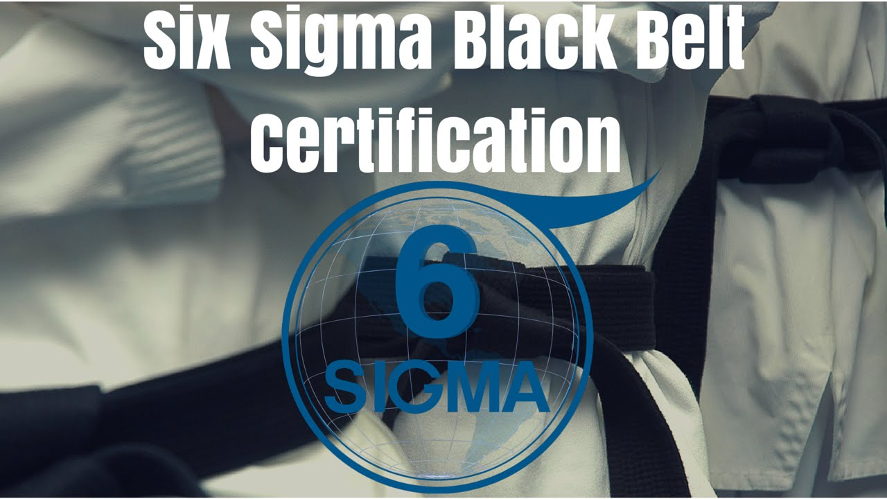 Six Sigma Certification San Jose Ca Lean Six Sigma Black Belt