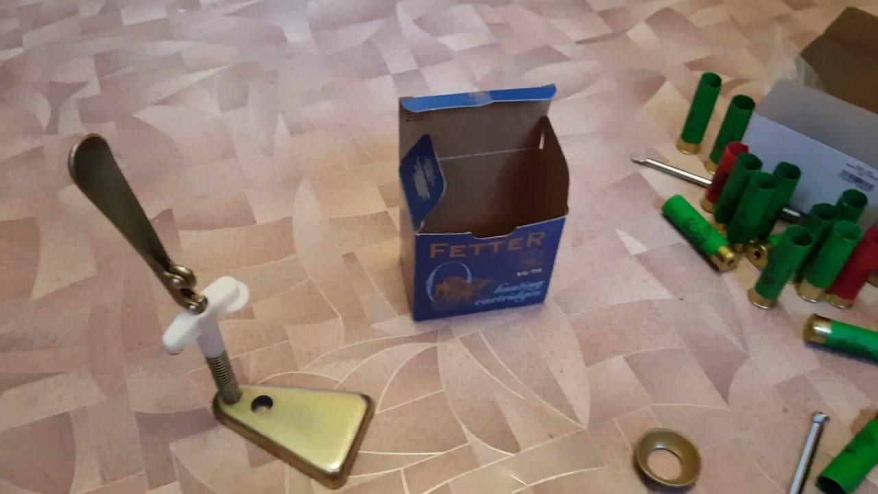 опрессовка юбок гильз 12к с применением подручных материалов - YouTube