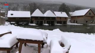 Snijeg svuda oko nas!