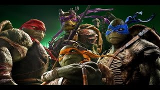 TMNT Master Splinter VS Shredder (2014)