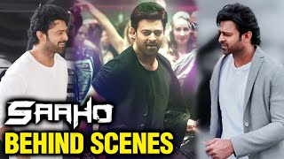 Prabhas Shares Saaho Behind The Scenes Images  For His Darling Fans