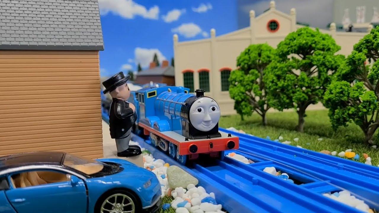 (NO.198) Thomas y sus amigos El accidente de Edward (Español Latino) Thomas and Friends Spanish
