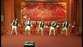 resham firiri dance chinese spring festival 2014