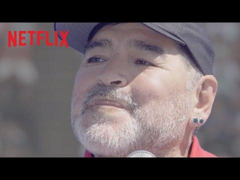 Maradona actúa en una serie de Netflix