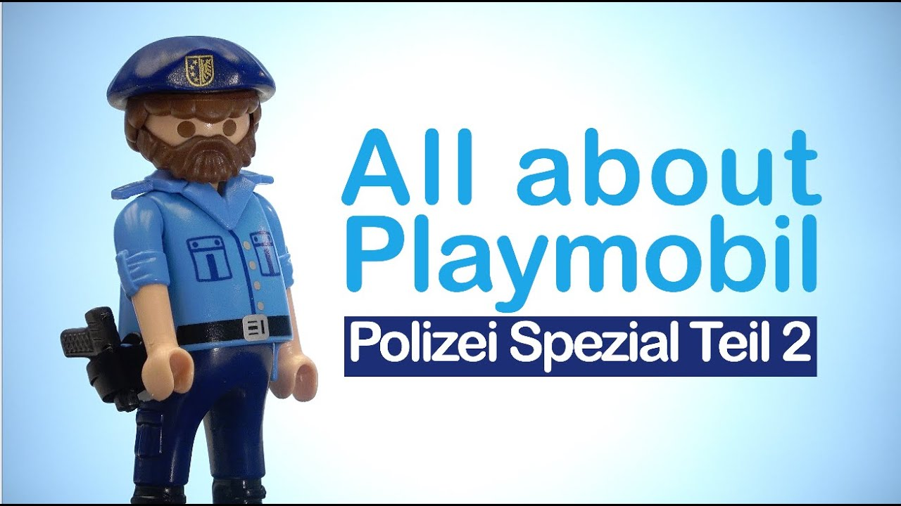 #2 Playmobil Film Neue Playmobil Polizei 2016 - New Playmobil Police 2016 Part 2
