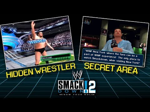 WWE Smackdown 2: Know Your Role Secrets & Easter Eggs!