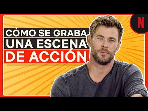 Chris Hemsworth explica cómo grabó una escena de acción en Misión de rescate
